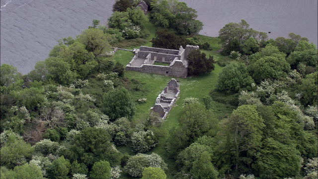 See Lough Leane-Luftaufnahme – Munster, Co, Kerry, Irland