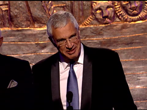 Louie Psihoyos accepts award for The Cove at the 24th Genesis Awards at Beverly Hills CA