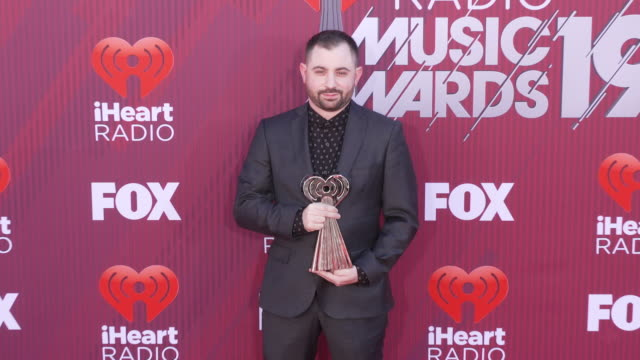 Louis Bell at the 2019 iHeartRadio Music Awards at Microsoft Theater on March 14 2019 in Los Angeles California