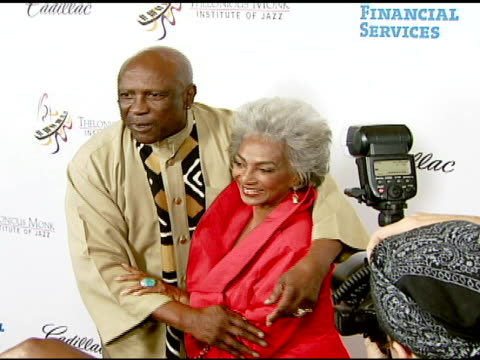 louis gossett jr and nichelle nichols at the the thelonious monk institute of jazz and the recording academy® los angeles chapter partner to honor... - herbie hancock stock videos & royalty-free footage