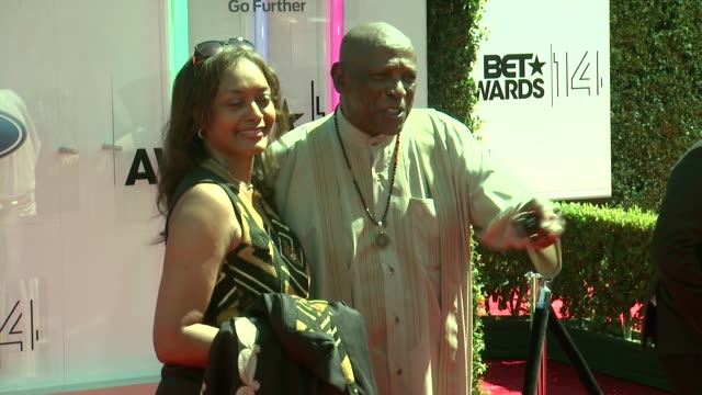 louis gossett jr at the 2014 bet awards on june 29 2014 in los angeles california - bet awards stock videos and b-roll footage