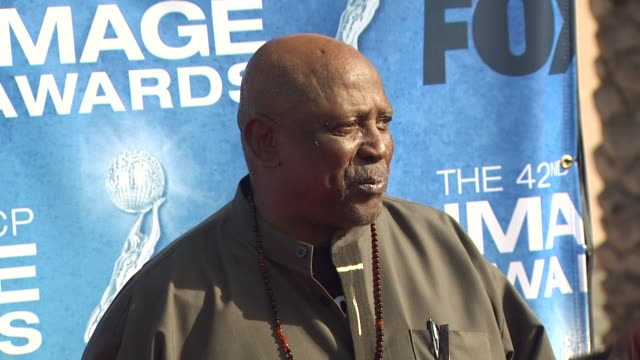 louis gossett jr. at the 42nd naacp image awards at los angeles ca. - naacp stock videos & royalty-free footage