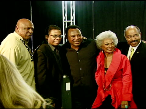 louis gossett jr, herbie hancock, george benson, and nichelle nichols at the the thelonious monk institute of jazz and the recording academy® los... - herbie hancock stock videos & royalty-free footage