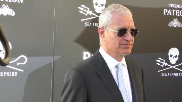 louis psihoyos at the sea shepherd conservation society's 40th anniversary gala for the oceans at montage beverly hills on june 10 2017 in beverly... - montage beverly hills video stock e b–roll