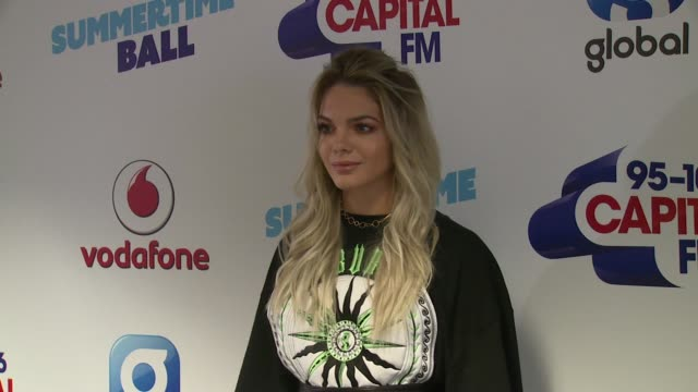 louisa johnson at wembley arena on june 10 2017 in london england - wembley arena stock videos & royalty-free footage
