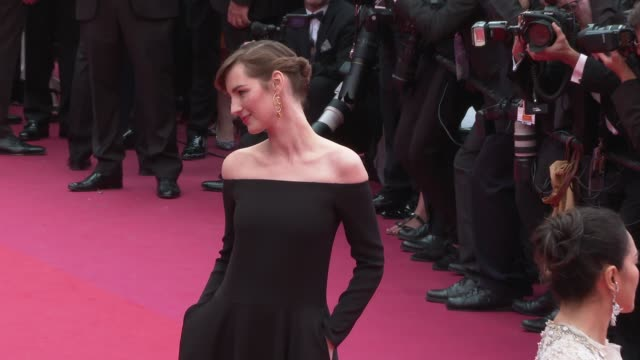 louise bourgoin at 'the dead don't die' red carpet arrivals opening ceremony the 72nd cannes film festival on may 14 2019 in cannes france - the dead don't die 2019 film stock videos and b-roll footage