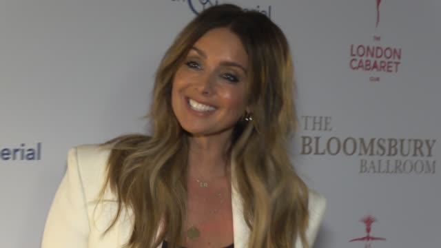 louise redknapp at bloomsbury ballroom on january 30 2020 in london england - gala stock videos & royalty-free footage