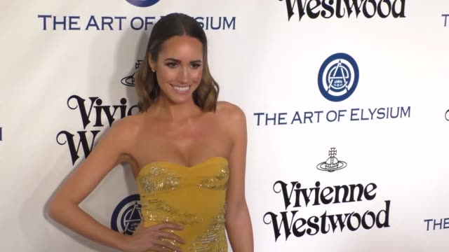 Louise Roe at The Art of Elysium's 9th Annual HEAVEN Gala at 3LABS in Culver City at Celebrity Sightings in Los Angeles on January 09 2016 in Los...