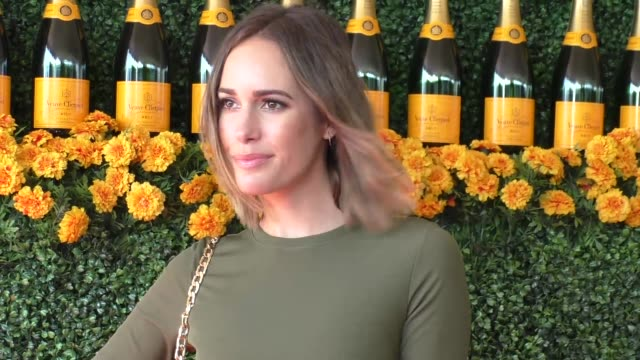 Louise Roe at the sixth annual Veuve Clicquot Polo Classic at Will Rogers Historic State Park in Pacific Palisades at Celebrity Sightings in Los...