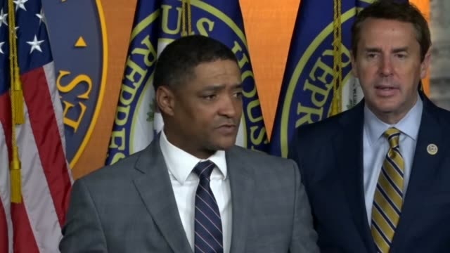 louisiana congressman cedric richmond says at a news conference after the first step act criminal justice reform bill was passed and ready to be... - prisoner education stock videos & royalty-free footage