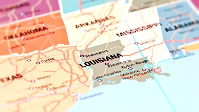 louisiana usa staaten - baton rouge stock-videos und b-roll-filmmaterial