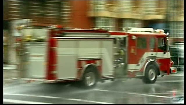 new orleans ext fire engines speeding along down street military jeep along on patrol - new orleans stock videos & royalty-free footage