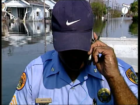 louisiana new orleans lms armoured personnel carriers along street pov from armoured personnel carrier along flooded street armed soldier sits in... - national guard stock videos and b-roll footage