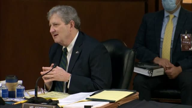 louisiana senator john kennedy says at first senate judiciary committee hearing of seventh circuit judge amy coney barrett on her nomination to the... - bureaucracy stock videos & royalty-free footage