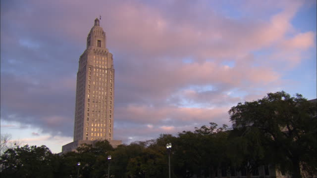 WS, Louisiana State Capitol, Baton Rouge, Louisiana, USA