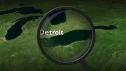 Loupe finds Detroit city on the map