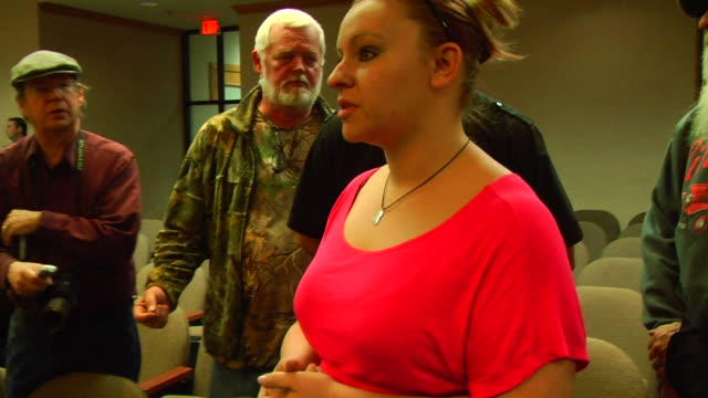 Lousiana Outlaw Militia offers to buy a woman Stephanie Eckland a new mobile home after she lost her previous home to thunderstorms and tornadoes