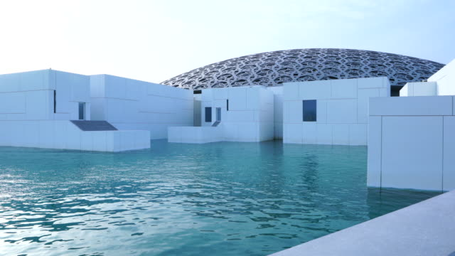 Louvre Abu Dhabi, Abu Dhabi, United Arab Emirates, Middle East