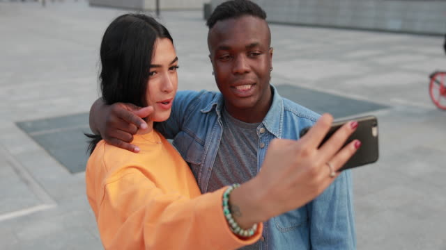 Love and selfie