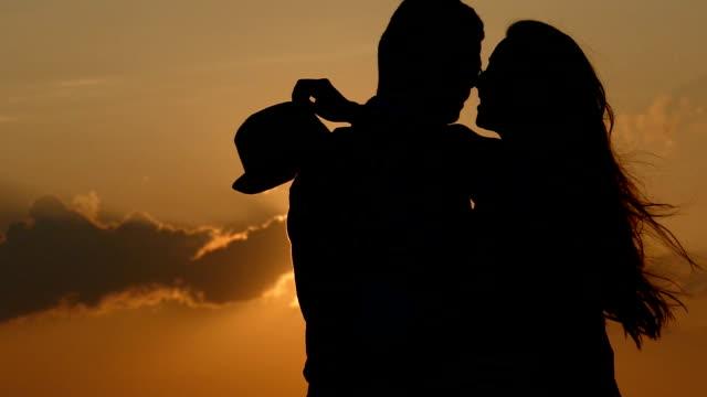 Amore e tramonto-moviola