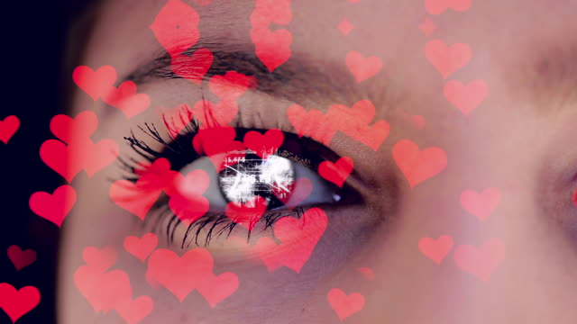 love at first sight - group of objects stock videos & royalty-free footage