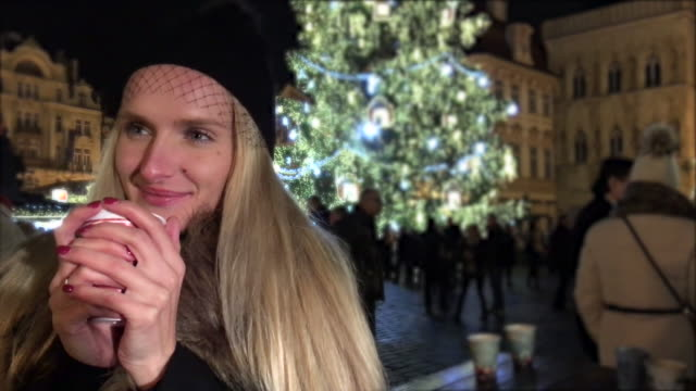 i love christmas time! - prague stock videos & royalty-free footage