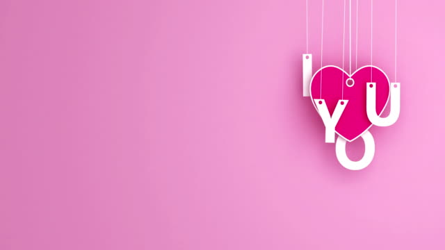 love - emotion romance origami pendant swaying loopable copyspace - pendant stock videos & royalty-free footage