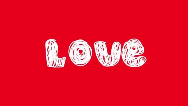 vídeos de stock, filmes e b-roll de amor coração - morphing