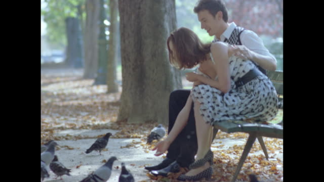 love in paris - romance stock videos & royalty-free footage