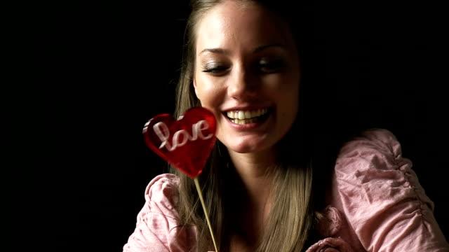 love lollipop - lollipop stock videos and b-roll footage