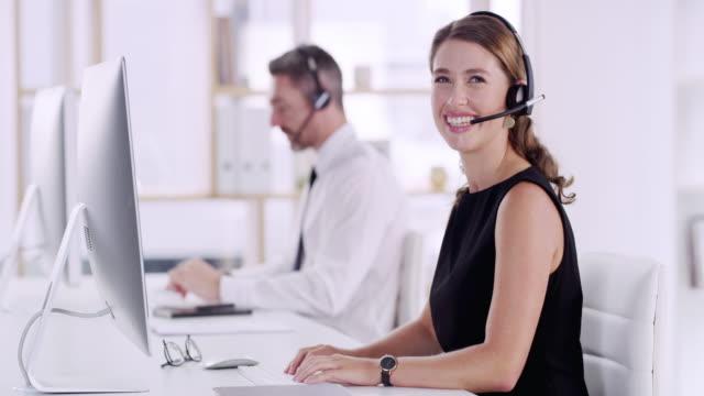 i love my job - headset stock videos & royalty-free footage