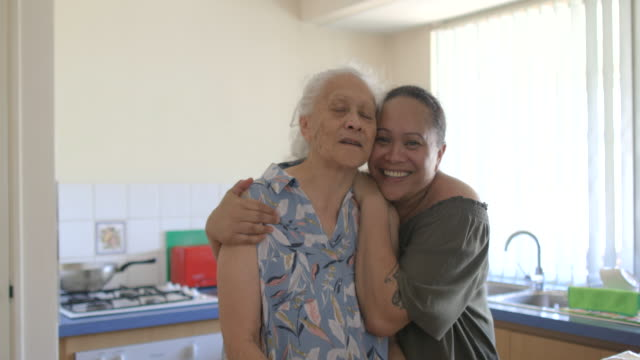 i love my mother - pacific islanders stock videos & royalty-free footage