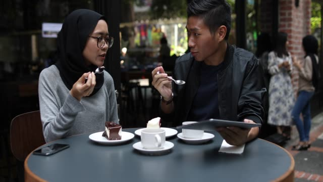 love on first date - indonesian ethnicity stock videos & royalty-free footage
