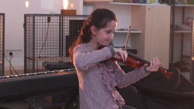 love playing violin - violin stock videos & royalty-free footage
