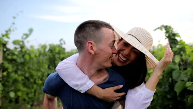A love story in a vineyard