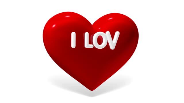 """i love you""  heart and arrow cupid,  luma matte - i love you stock videos & royalty-free footage"