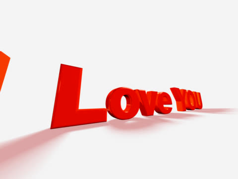 i love you (pal 25p) - i love you stock videos & royalty-free footage