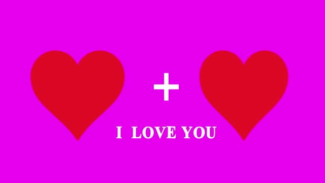 4K:I Love You(Loopable),Love Hearts
