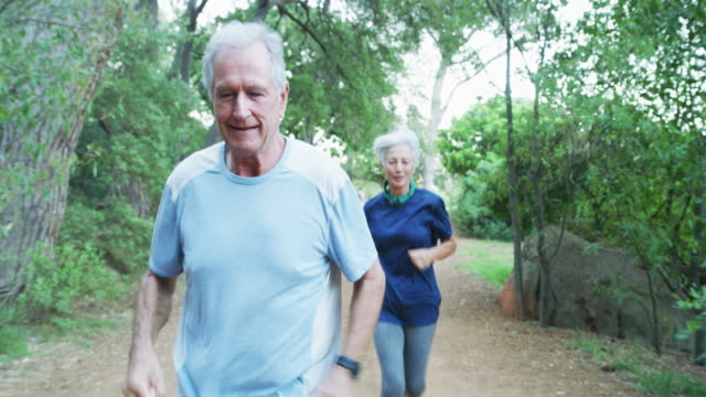 love your body enough to give it lifelong health - senior men stock videos & royalty-free footage
