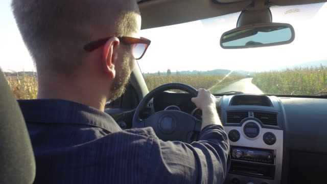 lovers on the open road - convertible stock videos and b-roll footage