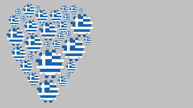 loving greece - greek flag stock videos & royalty-free footage