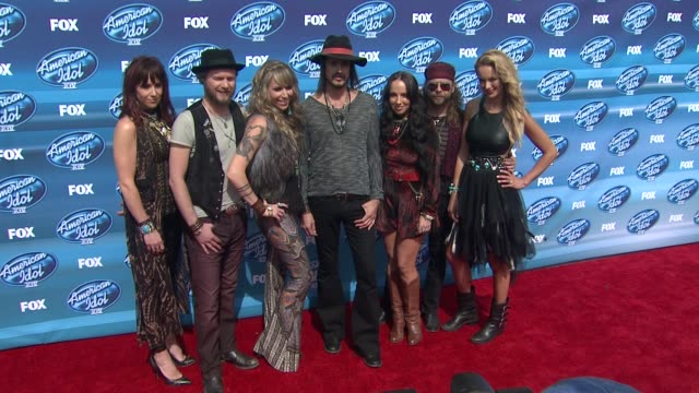"loving mary at the ""american idol"" xiv grand finale - arrivals at dolby theatre on may 13, 2015 in hollywood, california. - the dolby theatre stock videos & royalty-free footage"