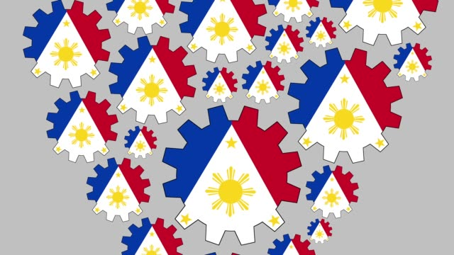 loving philippines - philippines flag stock videos & royalty-free footage