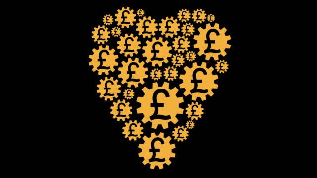 loving pound - pound sterling symbol stock videos & royalty-free footage