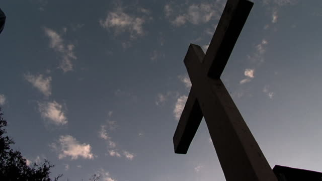 MS DS Low angle cross in sky / San Ysidro, Cabaí±as, El Salvador