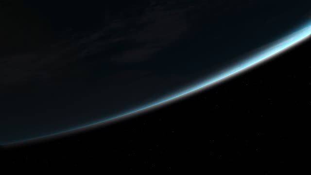 Low Angle Earth