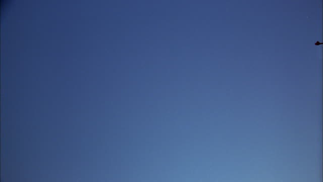 low angle jet plane flying overhead - londonalight stock videos and b-roll footage