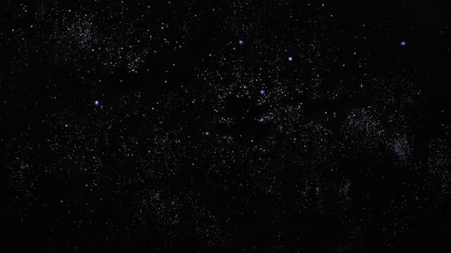 low angle long shot field of stars at night - 1981 stock videos & royalty-free footage