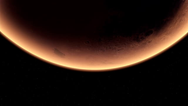 low angle mars - solar system stock videos & royalty-free footage