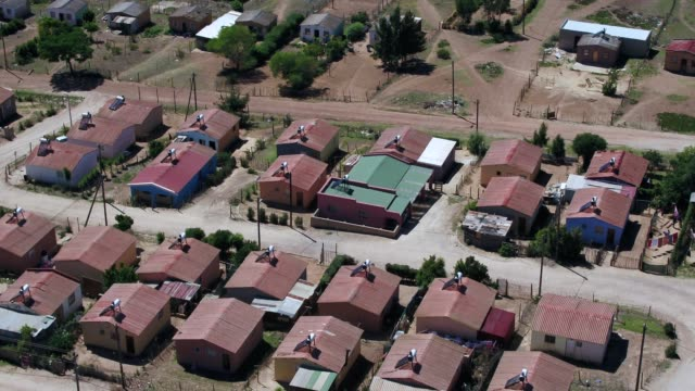 low cost housing of south africa - township stock videos & royalty-free footage